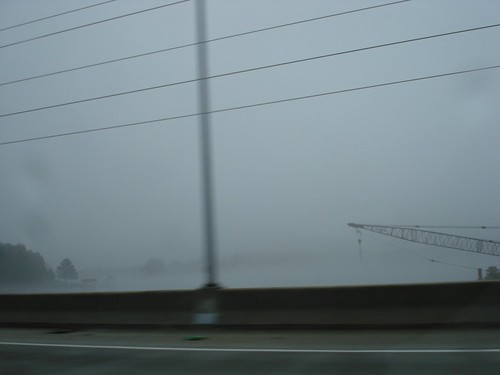 Norfolk foggy drive