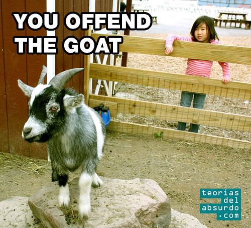 you offend the goat