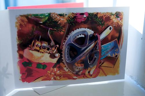 Shimano Christmas card - Yozo