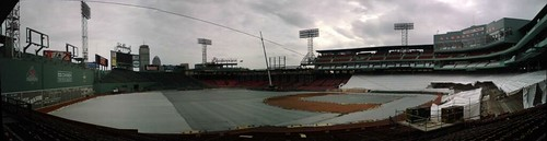 Fenway Park in December