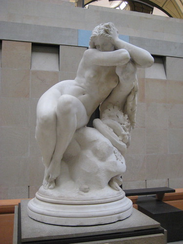Eugène Delaplanche (French, 1831-1892) Eve After the Fall (1869) Marble. Musée dOrsay, Paris.