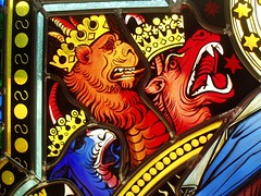 Heads of the Red Dragon (Aidan McRae Thomson) Tags: cathedral dom cologne stainedglass koln kolnerdom glasfenster
