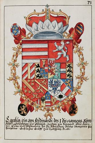 014- Escudo de Armas del Archiduque Carlos 1578-saa-V4-1985_071r