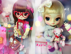 he-mi ( Ale K ) Tags: china bear cute nerd cake japan comic candy sweet chibi manga dal chips korean lolita planning wig kawaii ment groove pullip re rement inc risa jun frara obitsu taeyang