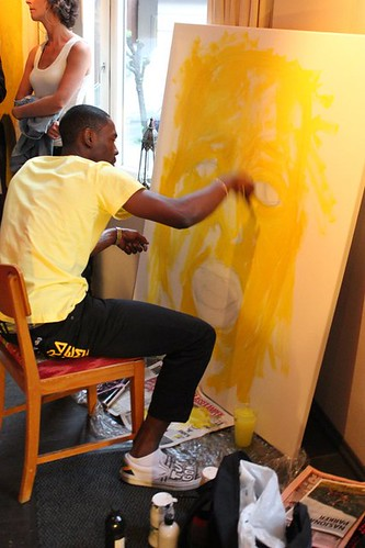 Bob painting 1/4