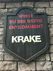 Krake Schild