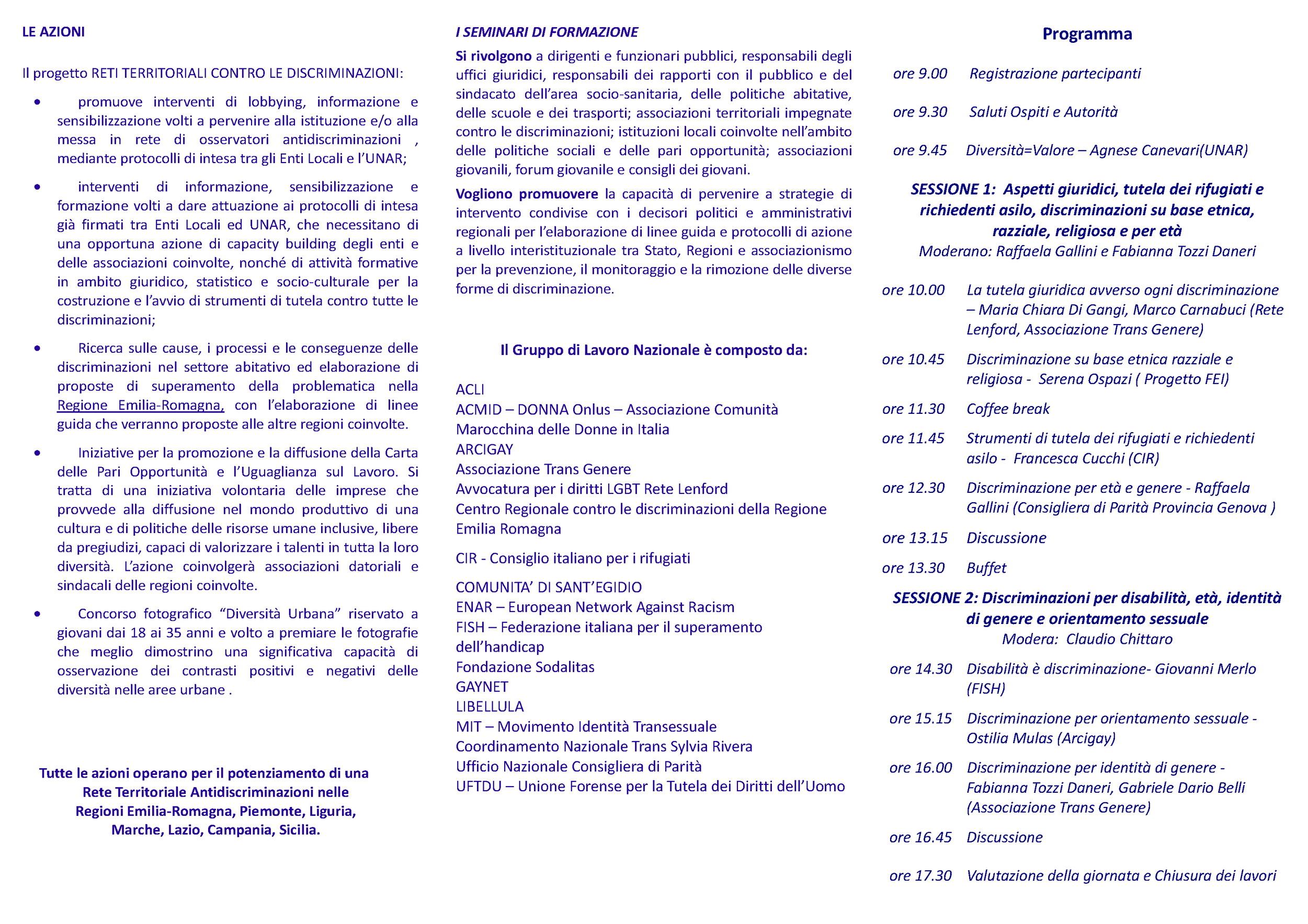 10/06/11 Genova - Seminario sulle diverse forme di discriminazione [Flickr]
