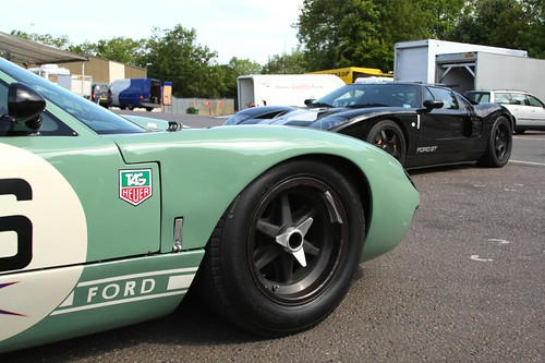 Ford Gt Old And To New Ford Gt Brands Hatch