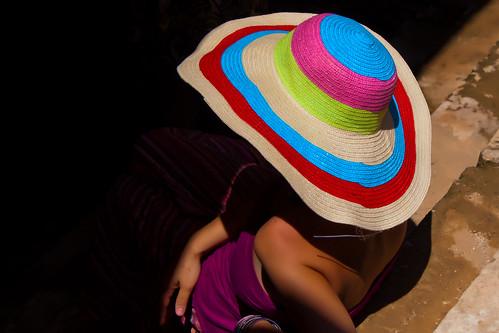 summer hat καλοκαίρι καπέλο