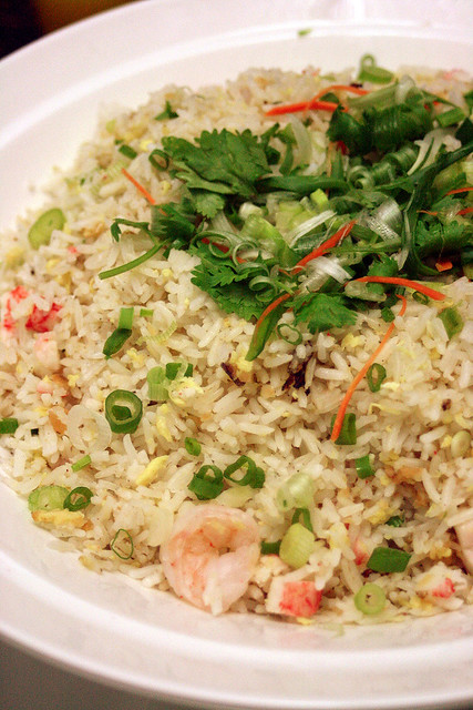 There's always fried rice if you're not full enough