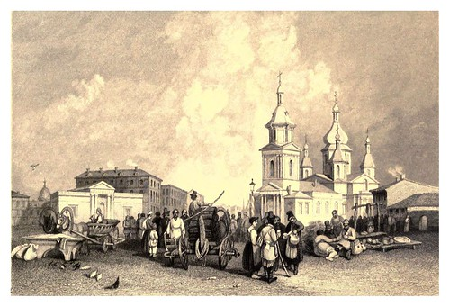 010-Mercadoen San Petersburgo-A journey to St. Petersburg and Moscow 1836- Ritchie Leitch
