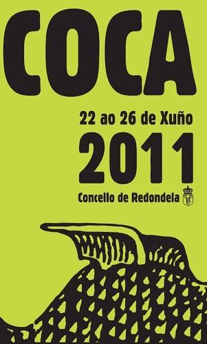 Redondela 2011 - Festa da Coca - cartel