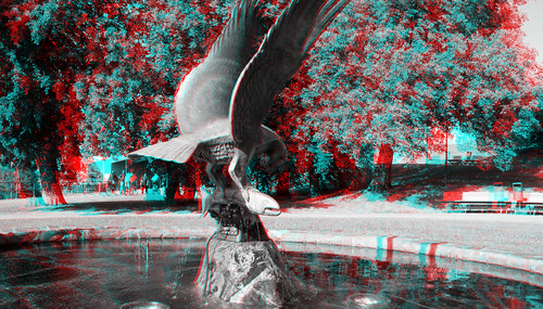 Oulu in anaglyph