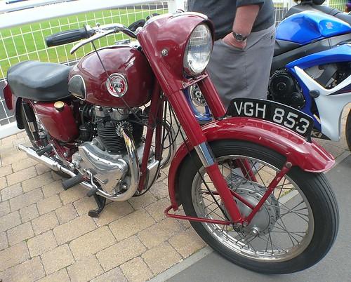 1958 Ariel 650 by velton