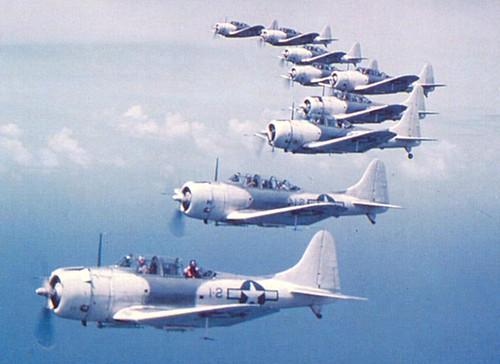 Warbird picture - Douglas SBD-5