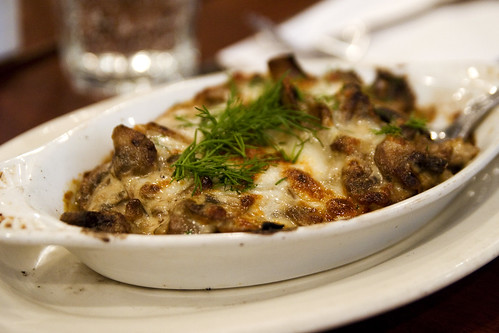 julienne mushrooms with cheese
