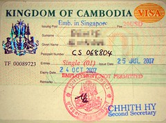 How to Easily Get the Cambodian Tourist Visa