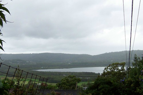 The Entrance Road & mangroves from Bay View Avenue East Gosford