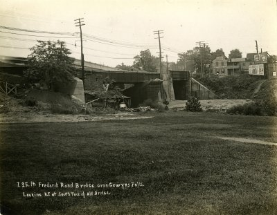 Frederick Road Bridge over Gywnns Falls