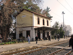 / Aliartos (Dimitris G.) Tags: station train hellas greece 1000views   aliartos