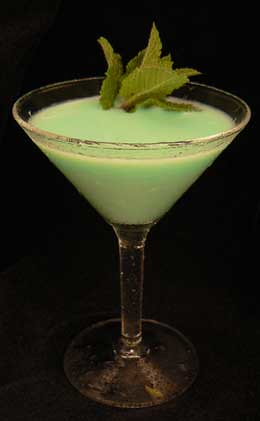 Grasshopper Mixed Drink Cocktail