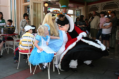 Where Are Her Manners? (briberry) Tags: hearts chairs alice disneyland disney queen musical wonderland