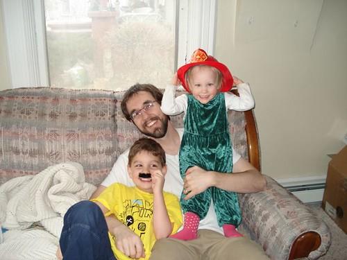 Kevin, Owen & Aine.