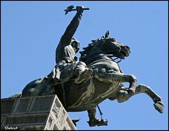 Nader Shah (Shahireh) Tags: statue king iran mashhad nader     naderigarden