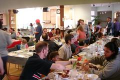 Passover crowd