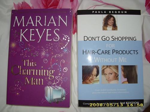 Marian Keyes book fan photo