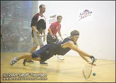 Racquetball Photo: Rocky Carson