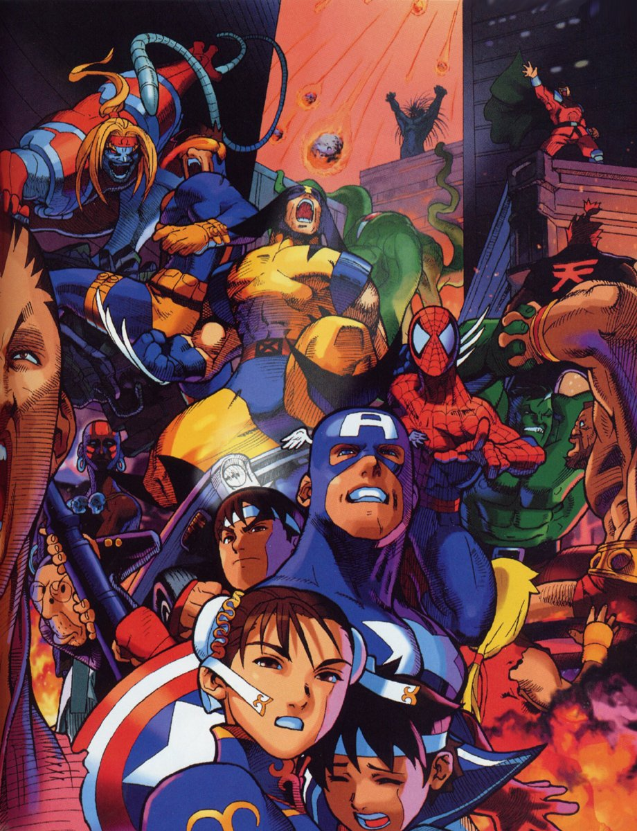 Marvel super heroes vs street fighter juego pc
