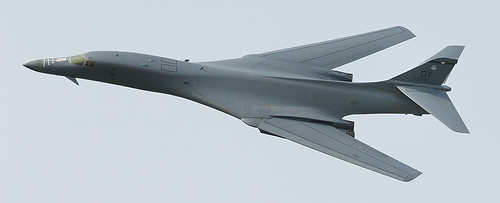 Airplane picture - ILA 2008: B-1 Lancer approaches