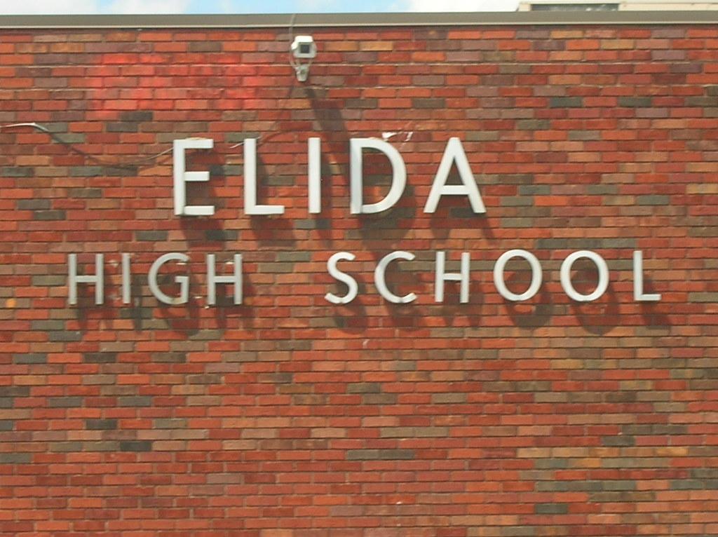 Elida High School--Elida, Ohio (oldohioschools) Tags: county old school