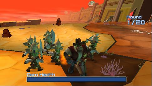 Desert level Screenshot