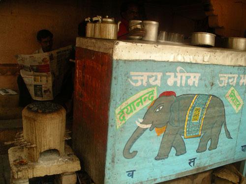 Blue Elephant <span class=