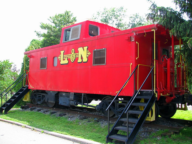 Bell Buckle L&N Caboose