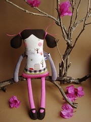 Violeta n 2 (kase-faz) Tags: color colour toy bonecas dolls handmade crafts pano softies textiles cor mariamadeira kasefaz