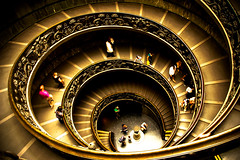 The end is the beginning is the end... (Huey Yoong) Tags: italy rome roma museum stairs religious intense europe italia illusion swirl christianity circular escaleras vaticancity simonetti vaticanmuseums cittadelvaticano 5photosaday museivaticano aplusphoto flickrestrellas simonettistairs firstfavfromthemunkey lpspirals