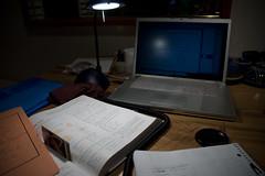 DSC_3991 (donut2D) Tags: school college pen computer notebook mac laptop pots ii pro calculus monami macbookpro mackbook headphonecable