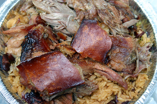 Pulled Pork with Rice & Beans