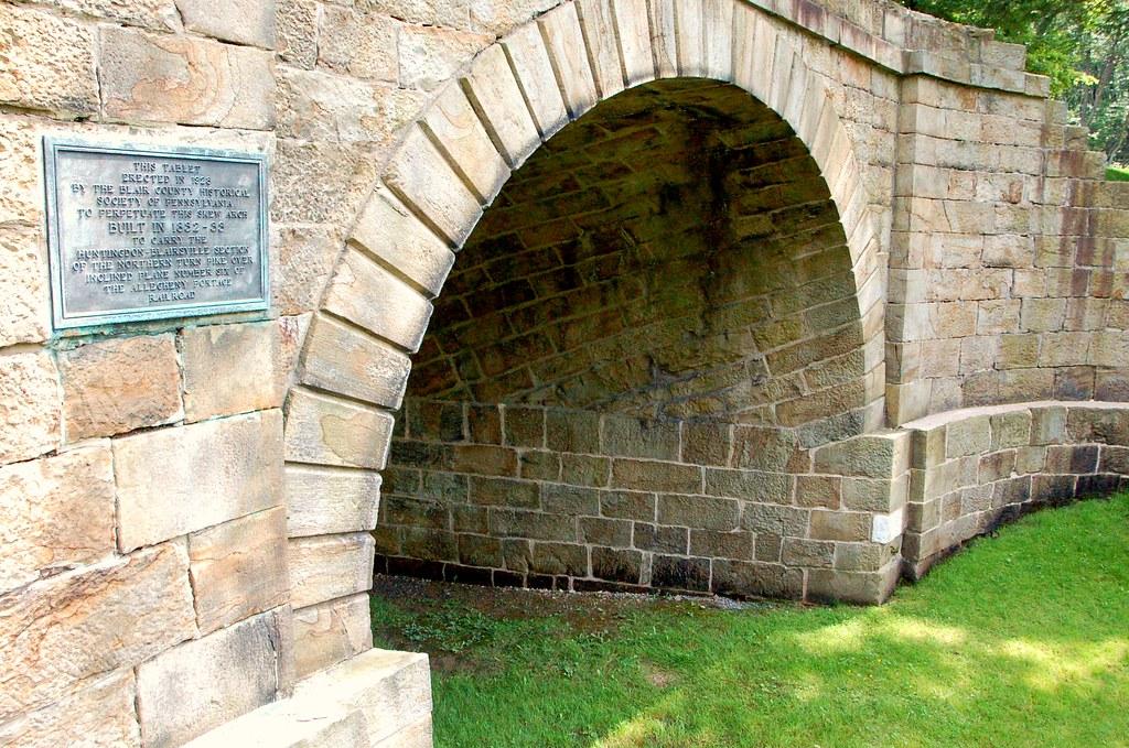 Skew Arch Bridge - Allegheny Portage Railroad