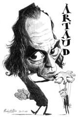 ARTAUD, Antonin (Morales de los Ros) Tags: writers caricaturas philosophers caricatures escritores filsofos