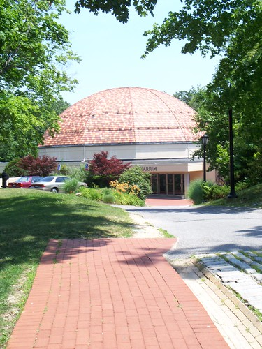 Vanderbilt Planetarium (Site of former Tennis Courts)