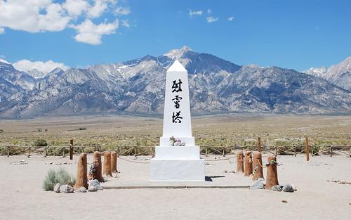 Manzanar Cemetery Monument, 1943