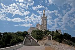 Notre-Dame de la Garde - Marseille (France) by Meteorry