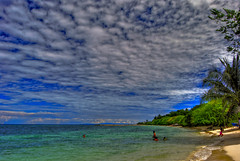 The beach (docjabagat) Tags: blue sea water clouds paradise philippines tropical cebu tropics inspiredbylove cebusugbo golddragon platinumphoto
