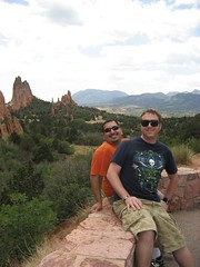 James and Tim at Garden of the Gods. (07/04/2008)