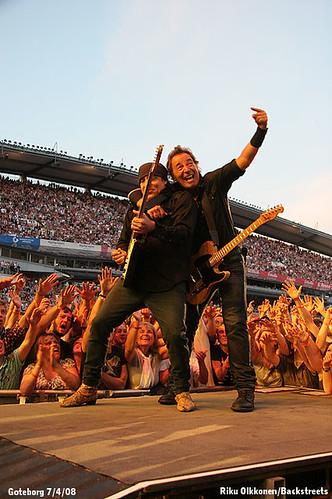 Bruce Springsteen en Goteborg