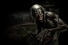 FRIGHT NIGHT (thewoomachine) Tags: dark zombie creative creepy fantasy header captures